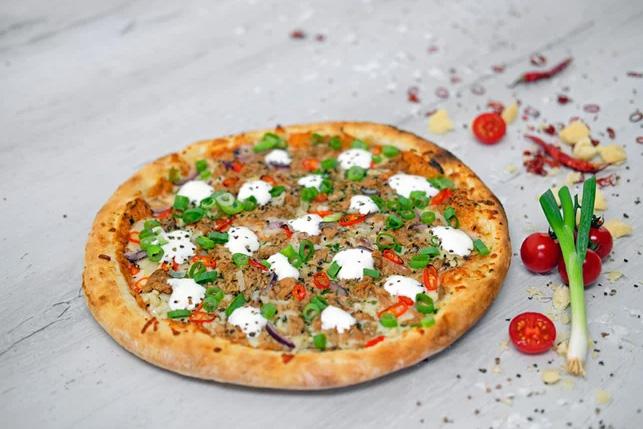 Pizza Tonno piccante