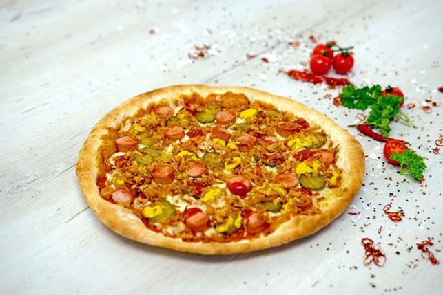 Pizza Veggie Dog